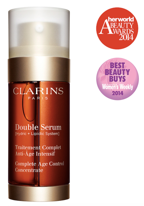 Clarins Award Wining Anti Aging Double Serum