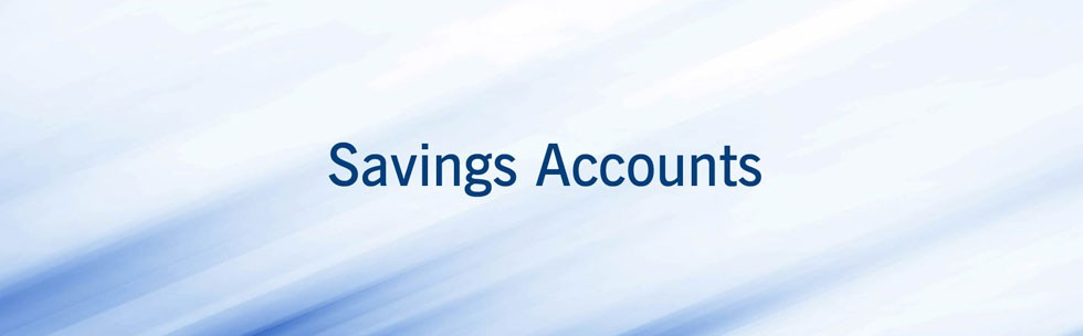 Consider a personal saving account