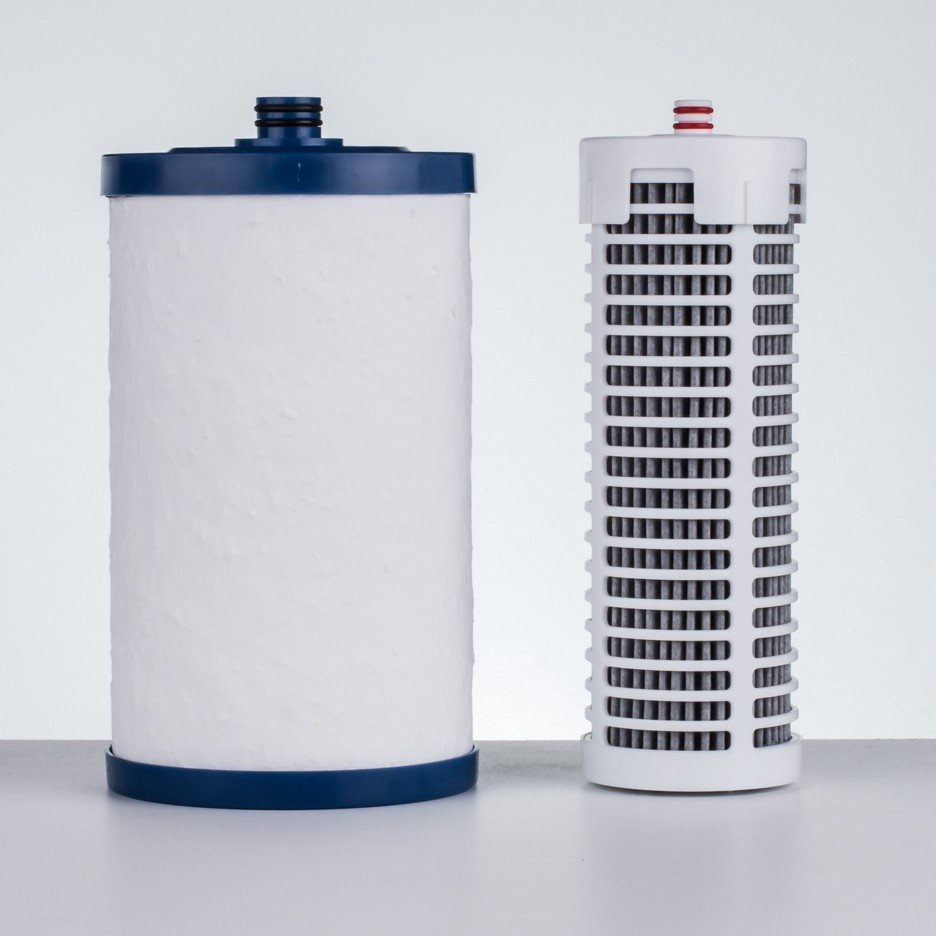 You can buy filters that can be used over and over again after cleaning them